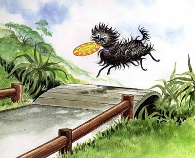 Hairy Maclary by Lynley Dodd. So well written. Beautiful words that just trip off the tongue. Loved reading these to my children when they were little.