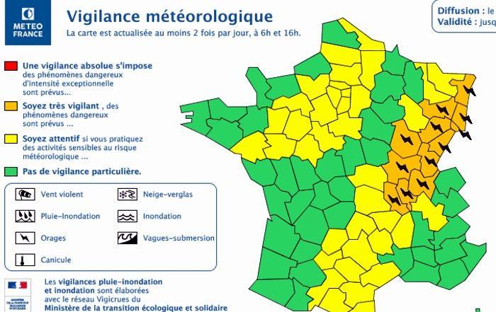 Vigilance Meteorologique Montceau News L Information De Montceau