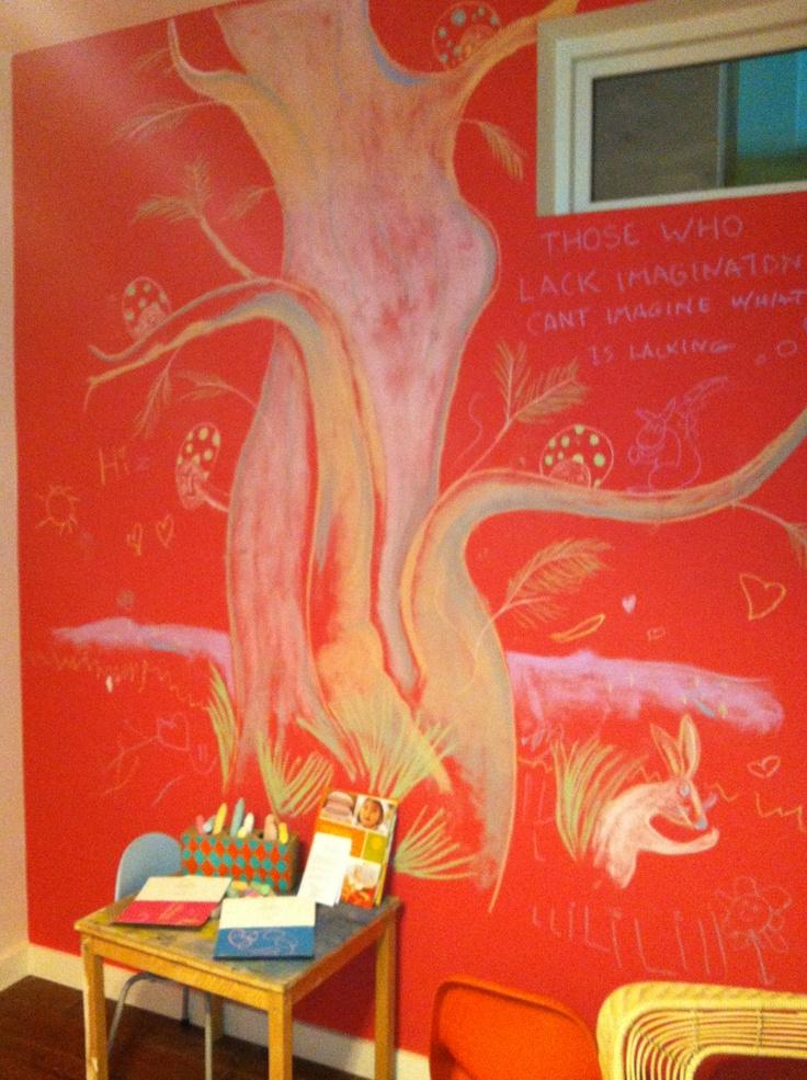 Dwell design house, Chalkboard Paint in Casata