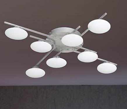 Plafón 8 luces Everett LED