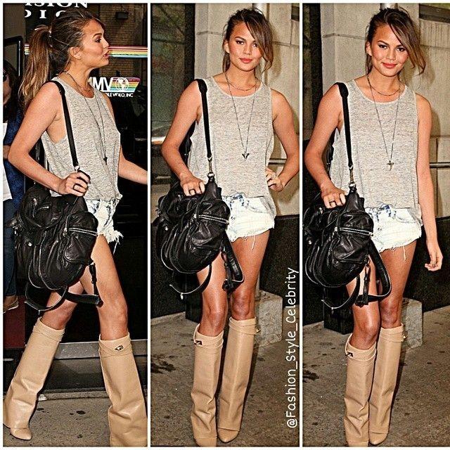 #chrissyteigen #johnlegend #jumpsuit #maxi #tribalprint #shirt #fashionista #heir #parishilton #angel #coffee #vsangel #vs #shorts #tshirt #prints #beautiful #beauty #fashion #style #stylish #elegant #look #lookbook  #celebritystyle #celebrity #ootd #outfit #shades... - Celebrity Fashion