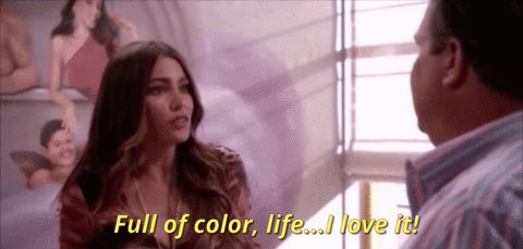 latina sofia vergara i love it latinawomen full of color life #humor #hilarious #funny #lol #rofl #lmao #memes #cute