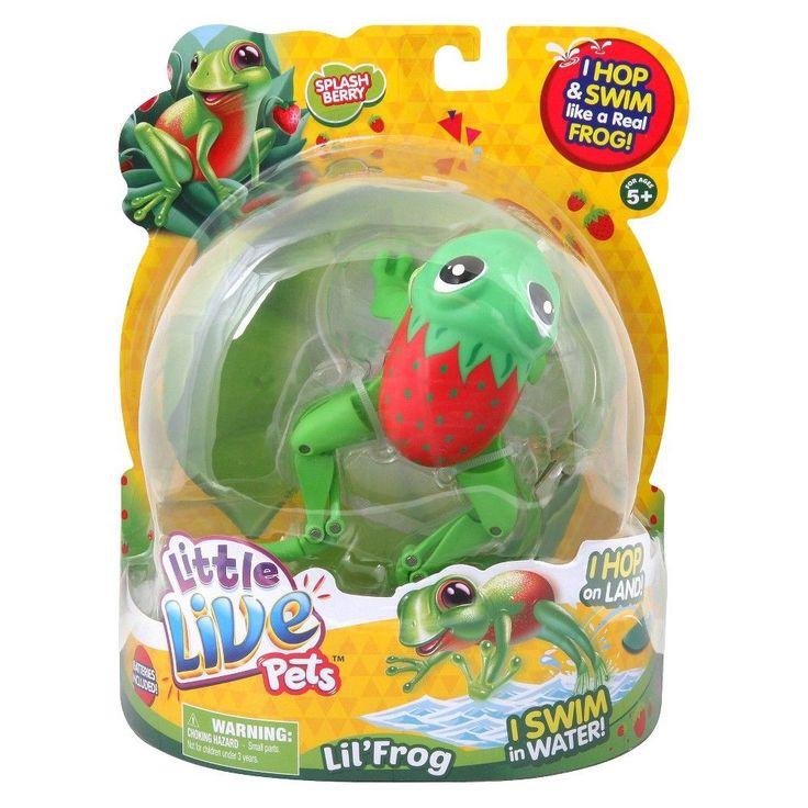 Little Live Pets Lil' Frog Splashberry the Sweet Frog