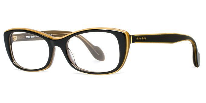 Miu Miu, MU 01LV As seen on LensCrafters.com, the place to find your favorite br…