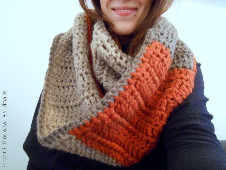 Scaldacollo all'uncinetto - Crochet neckwarmer
