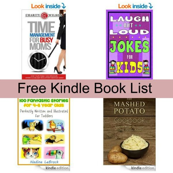 24 best amazon deals images on pinterest amazon deals free free kindle book list time management for busy moms the mashed potato cookbook laugh out loud jokes for kids and more fandeluxe Gallery
