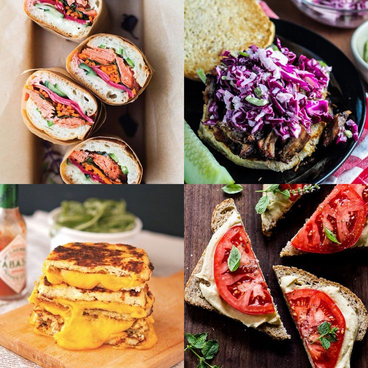 DELCAMPO · Los #sandwiches en Zummsalads son crujientes y muy originales {3,75€}, tanto como estos bocados ordenados por... COLORES!    #Rainbow of #sandwich