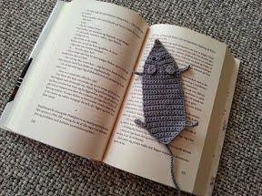 FRIRUMMET: Hæklet bogmærke