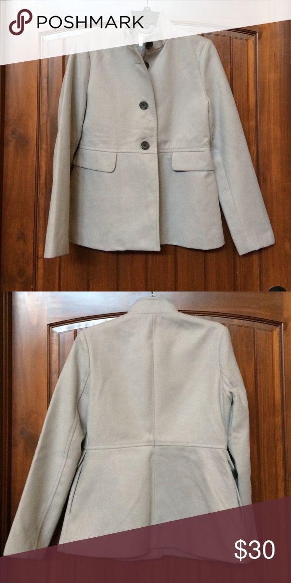 Old Navy Pea Coat Old Navy silk-lined Pea coat. Worn once. Old Navy Jackets & Coats Pea Coats