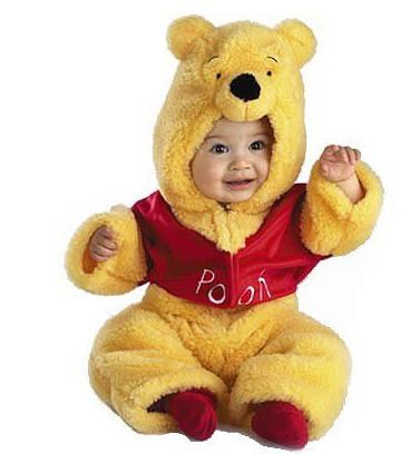 1d2b0417e64b Winnie the Pooh Costume Pooh Bear Infant Costume Silly ol  Bear!Costume  includes  Deluxe Plush bodysuit with attached Pooh character hood.Available  size