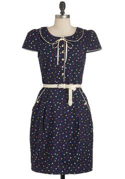 Social Buttercup Dress in Candy Dots, #ModCloth