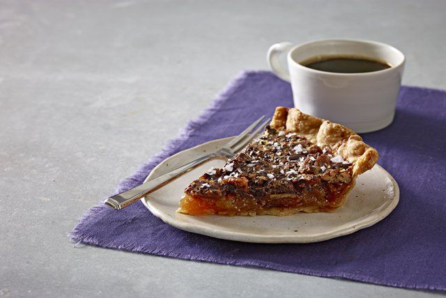 salted-chocolate-pecan-pie-150610 Image 1 | Just Desserts | Pinterest
