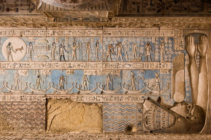 4,200-Year-Old Egyptian Temple Discovered to Have Remarkably Well Preserved Artwork - My Modern Met