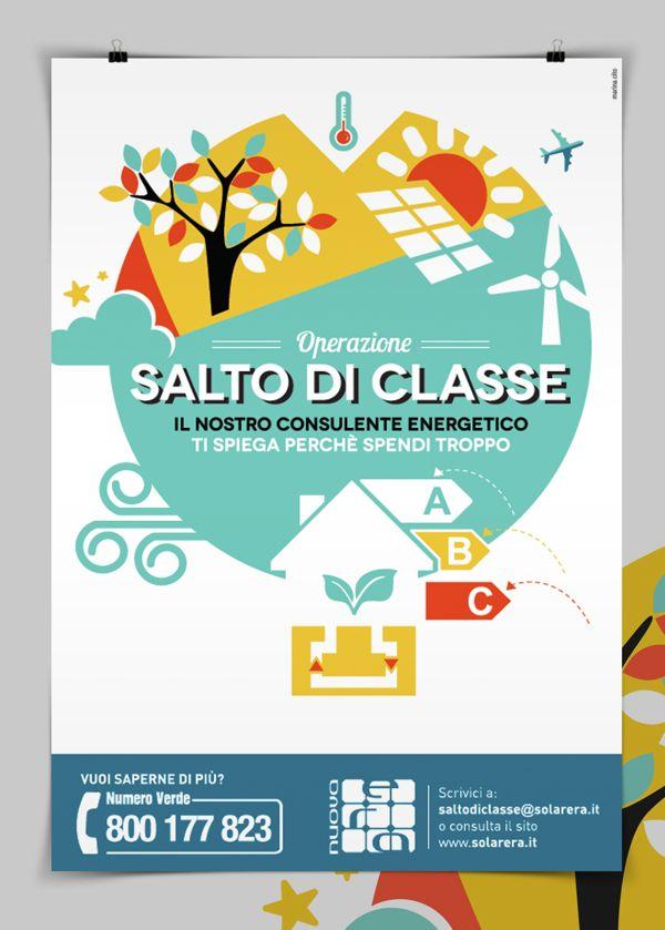 Salto di classe by Marina Cito, via Behance