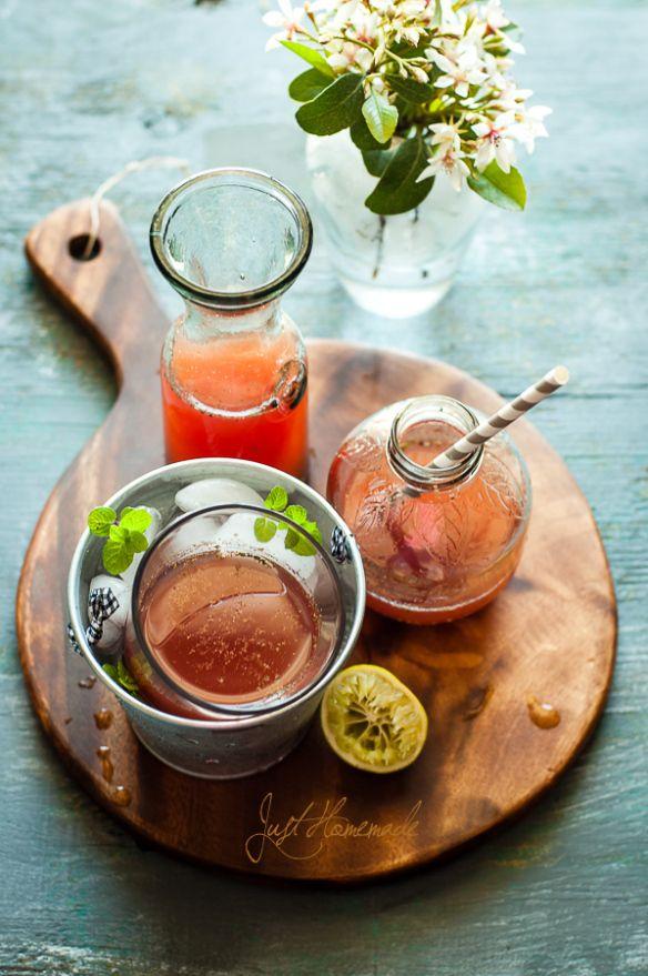 Blood Orange Jal Jeera (cumin-spiced blood orange & citrus cooler) | Just Homemade