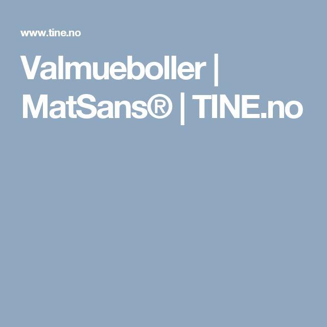 Valmueboller | MatSans® | TINE.no