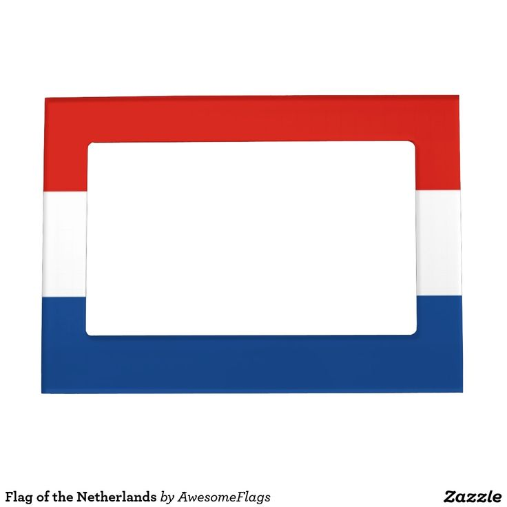 Flag of the Netherlands Picture Frame Magnets