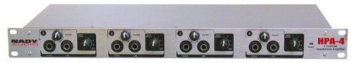 #supplies The #Nady HPA-4 is a 4-channel headphone amplifier/line distributor