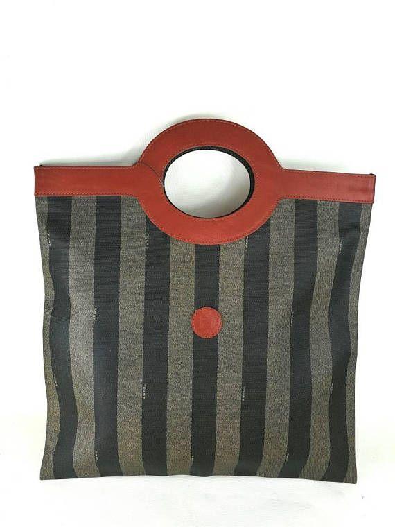 e0d9c60c24 ... guarda questo articolo nel mio negozio etsy etsy it listing 584074391 vintage  fendi wholesale new vintage fendi brown tan leather woven crossbody bag ...