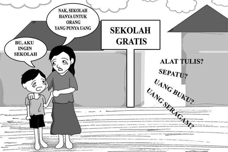 Sekolah Gratis? | kartunesia