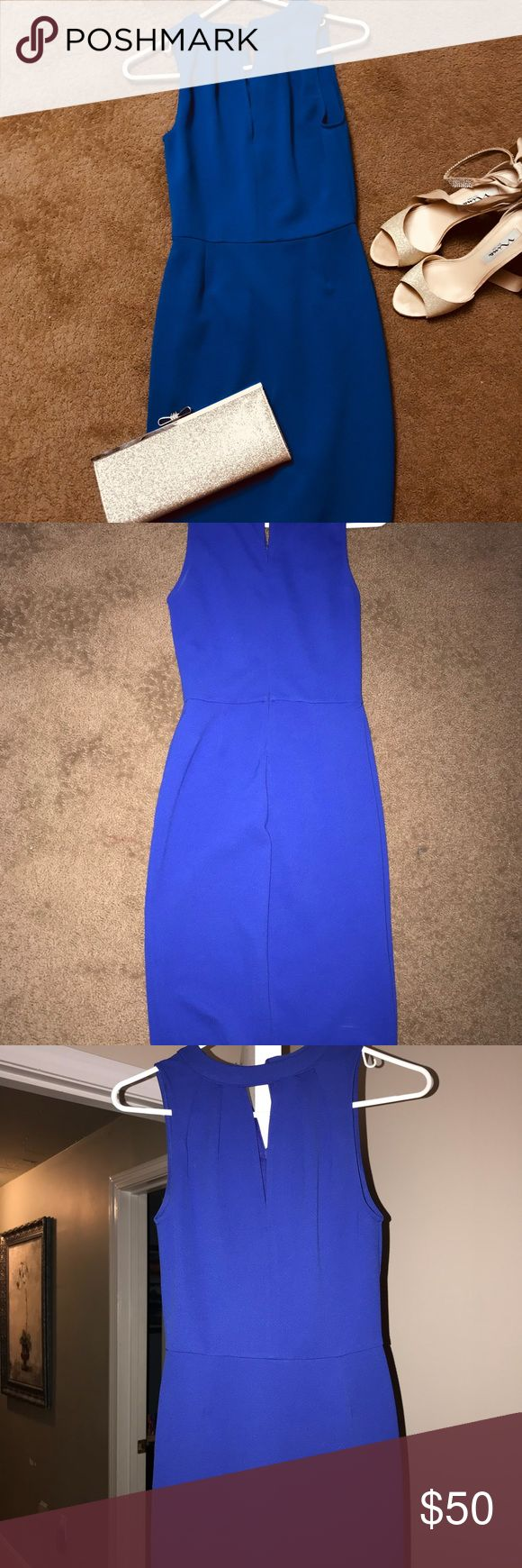 Cocktail dress Vivíd royal blue cocktail midi dress size small. Perfect for a party or a night out ! Very soft material. Bought it at Nordstrom. New with tags Dresses Midi