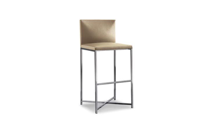 CHAIRS -  EN | FLYNT STOOL Il design pulito ed essenziale che caratterizza le sedie Flynt viene ripreso anche nella linea dello sgabello, disponibile unicamente nella