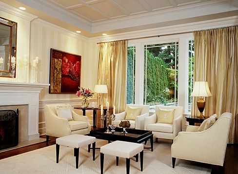 Sarah richardson design oceanview estate living room - Sarah richardson living room ideas ...