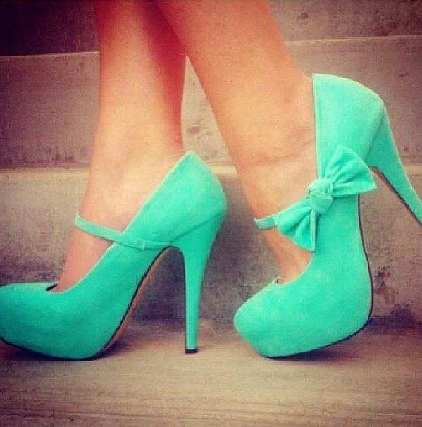 Cute High Heels With Bows