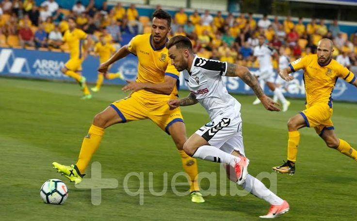 SIN GOL NO HAY VICTORIA POSIBLE; TODO SOBRE EL ALCORCÓN 1  ALBACETE 0  Albacete Balompié Alcorcón Crónica fútbol Fútbol LaLiga 123 Santo Domingo Temporada 2017/18