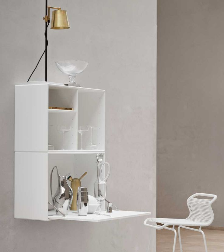 NOTE - writing nook or bar module from Montana Collection in the colour New White