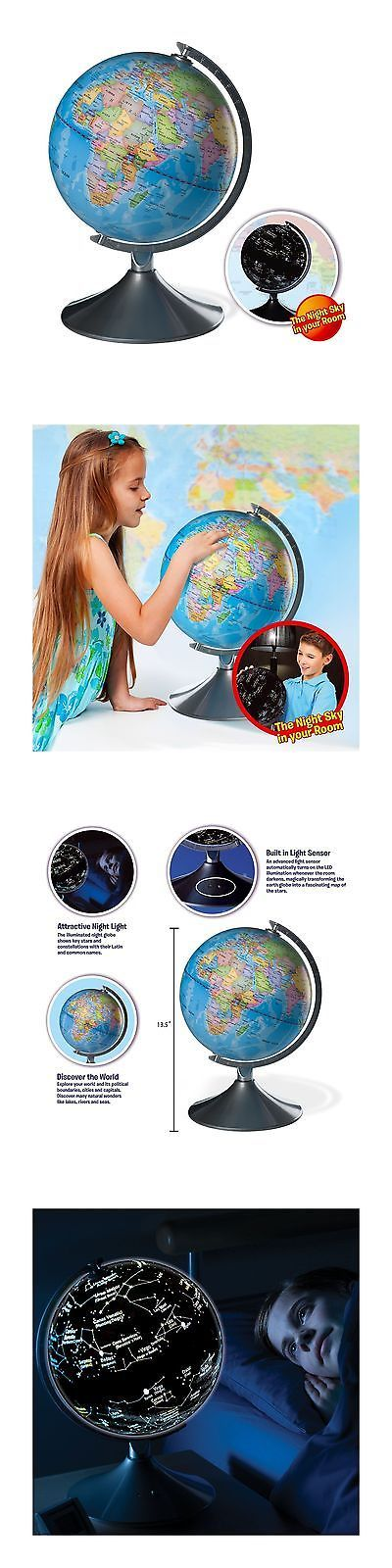 Geography and History 11733: Interactive Globe For Kids 2 In 1 Day View World Globe And Night View Illumin... -> BUY IT NOW ONLY: $73.77 on eBay!