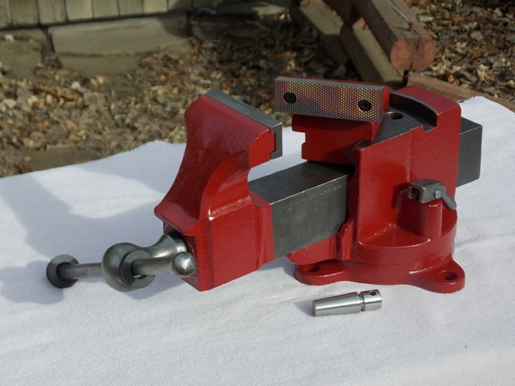 Here Is A Prentiss 19 Swivel Jaw Vise Restored By Gregg