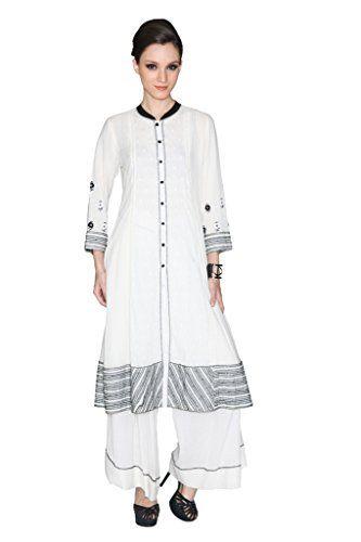 Ritu Kumar Women's Cotton Kurti And Palazzo Set – A2Z Smartstore.com