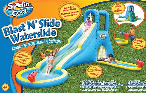 Cool Toys From Toys R Us : Sizzlin cool foot blast n slide waterslide toys r us
