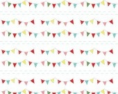 The Simple Life Buntings multi - Riley Blake Designs
