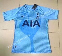 2017-18 Tottenham Hotspur Away Blue Thailand Soccer Jersey
