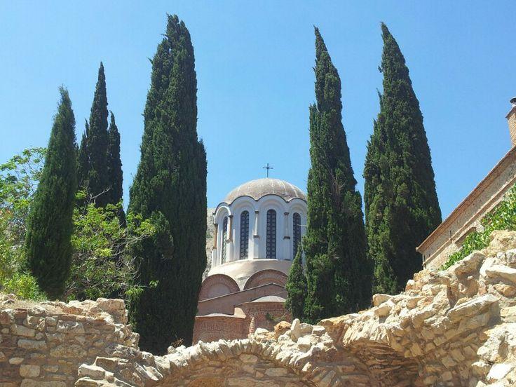 Nea Moni, Chios, Greece, Picture:Jessica Diakakis