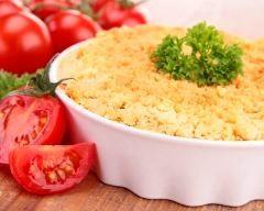 Crumble de tomates au chèvre frais (facile, rapide) - Une recette CuisineAZ