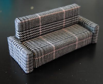 sofa from sponges