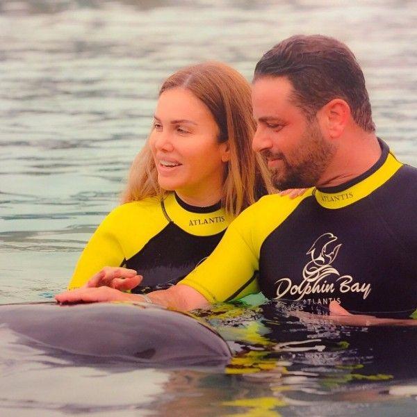 بالصور نيكول سابا ويوسف الخال فى إجازة رومانسية في دبي 2015 Http Www Banotacool Net 2015 05 2015 40 Html Arab Celebrities Swimwear Celebrities