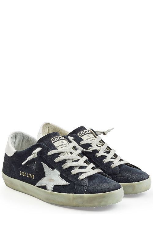 Golden Goose Womens Ball Star Low-top Leather Trainers in Metallic - Golden Goose Outlet