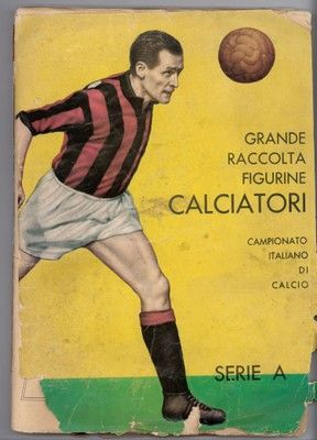 All sorts of cards to see, not only sports at the Museo della Figurina Panini.