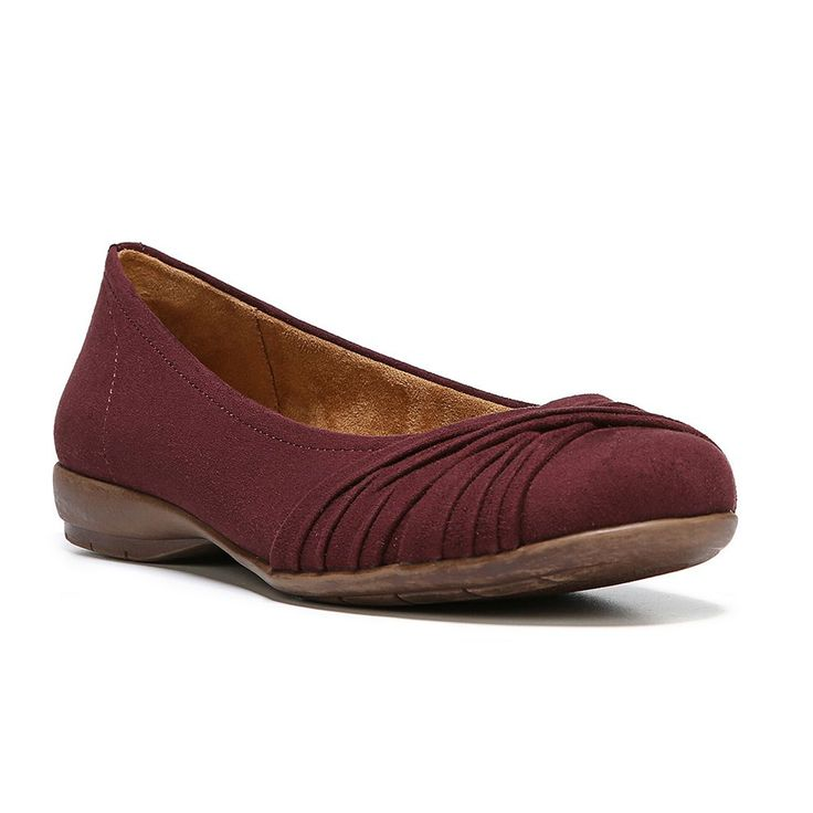 NaturalSoul by naturalizer Girly Women's Ballet Flats, Size: medium (6.5), Brown Over