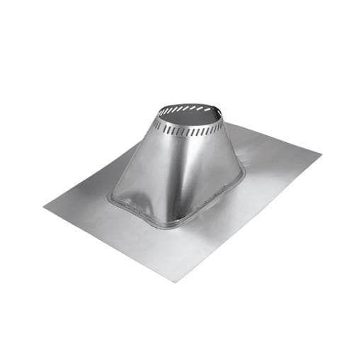 Selkirk 2-6/12 Adj Roof Flashing 6T-AF6 Unit: Each, Silver aluminum