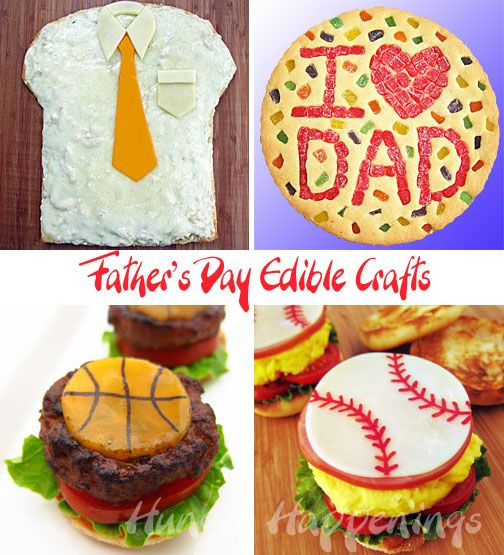 Hungry Happenings: Celebrate Father's Day by making him an edible craft.