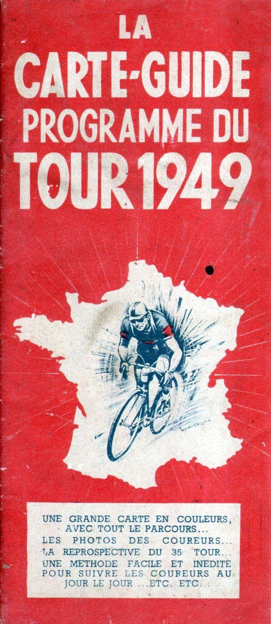 Vintage Tour de France poster (1949)