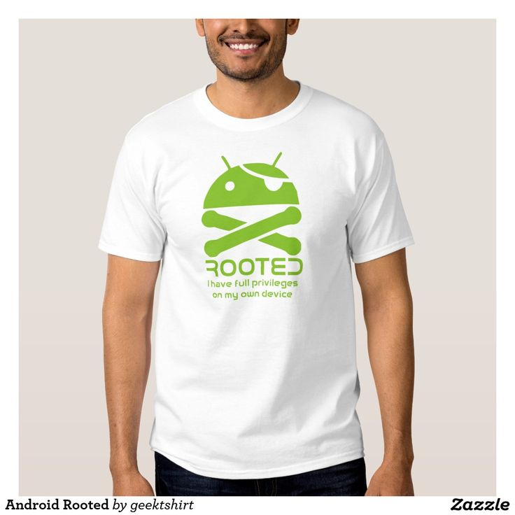 Android Rooted Shirt. Regalos, Gifts. #camiseta #tshirt