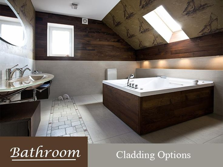 There are many ways you could renovate your bathroom to look unique and different but have you ever thought of incorporating cladding into your bathroom design rather than tiles?