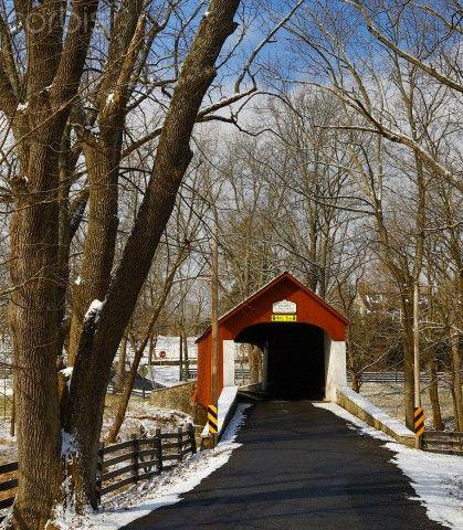 Kenecht's cvered bridge, eastern PA