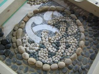 mosaic garden stones google search